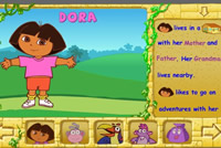 Learn to read with Dora (Pictogram)