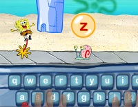 Learn to Type Game with SpongeBob