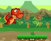 Jumping T-Rex Dinosaur