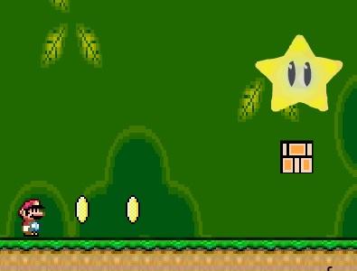 Mario collect stars