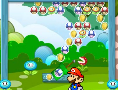 Mario Bros Bubble Shooter