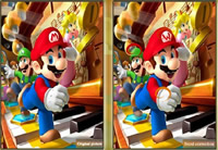 Mario Bros Spot the Difference