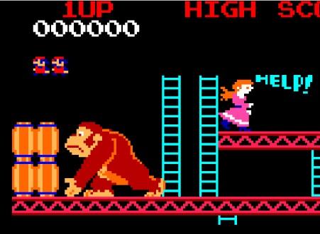 Mario Jumping Barrels