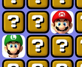 Matching Mario Bros Cards