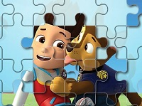 PAW Patrol Jigsaw puzzle (Chase and Ryder)