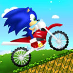 Sonic Motorcycle Race