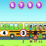 Learn Add and Subtract with the School Bus