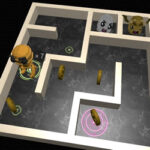 3D Labyrinth and Robot