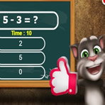 Talking Tom Addition and Subtraction