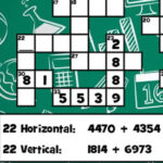 Adding Large Numbers Crossword