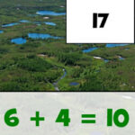 Addition Puzzles: Earth Day