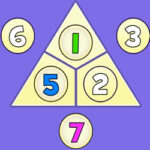 Addition Triangle up to 10