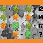Autumn Math Riddles
