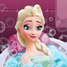 Elsa Frozen, Beauty Bath
