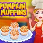 Baking Pumpkin Muffins