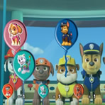 Balloon Bursting: PAW Patrol