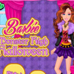 Monster High Barbie Dress Up