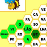 Portuguese Syllable beehive game