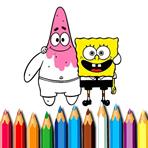 Painting Bob and Patrick