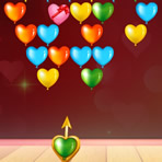 Bubble Shooter of Hearts