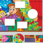 Christmas Shapes Educational Puzzle