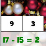 Subtractions at Christmas (up to 20)