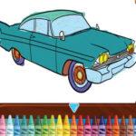 Classic Car Coloring