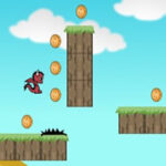 Run and Collect Coins with the Dragon