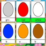 Spelling Colors in English