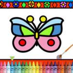 Colouring Butterflies Online