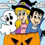 Online Halloween Coloring