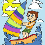 Coloring Summer Drawings