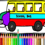 Bus Colouring Game Online