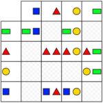 Geometric Shapes Logical Matrix