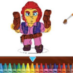 Colouring Brawl Stars
