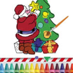 Colouring Christmas Drawings