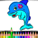 Colouring Dolphins online