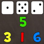 Counting 1-6 with a Dice