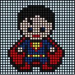 Copy Superhero Mosaics