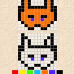 Copying Pixel Drawings: Translational Symmetry