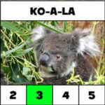Counting Syllables: animal names