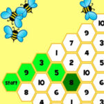 Counting Bees 1 to 10