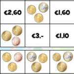 Counting Euro Coins
