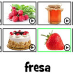 Spanish Food Vocabulary: Unscramble Game