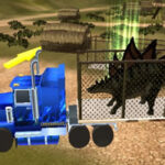 Dinosaur Transport Truck 3D Driving