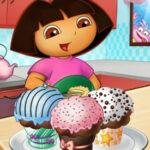Dora Cake Decor
