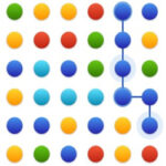 Dots Mania: connect dots with same colour