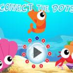 Number Dot to Dot: Marine Animals