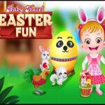 Baby Hazel at Easter
