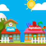 Educational City: Numbers and Letters